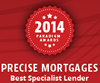 Paradigm Awards - Best Specialist Lender 2014